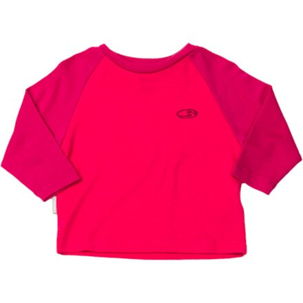 Icebreaker BodyFit 260 Crew - Long-Sleeve -  Infant Girls'