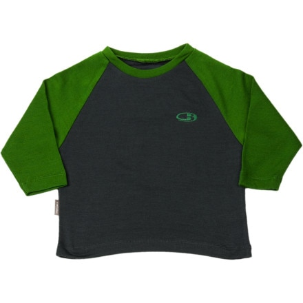 Icebreaker BodyFit 260 Crewe - Long-Sleeve - Infant Boys'