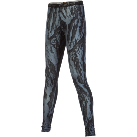 photo: Icebreaker 200 Lightweight Legging Printed