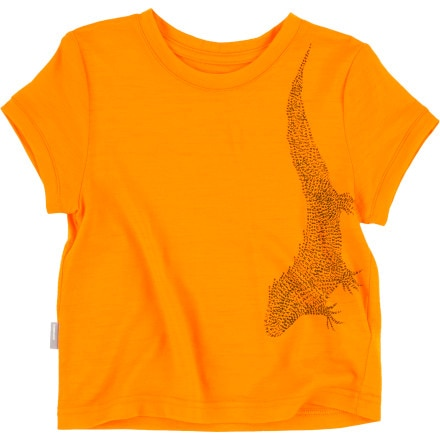 Icebreaker Tech T Lite Tuatara Shirt - Short-Sleeve - Toddler Boys'