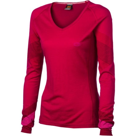 photo: Icebreaker Oasis V Speed Top base layer top