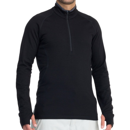 Icebreaker Base Layer 260 Pursuit Zip-Neck Top - Long-Sleeve - Men's
