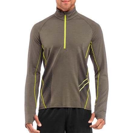 Icebreaker Sonic Zip-Neck Top - Long-Sleeve - Men's