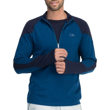 Icebreaker Legion Zip-Neck Sweater - Men's