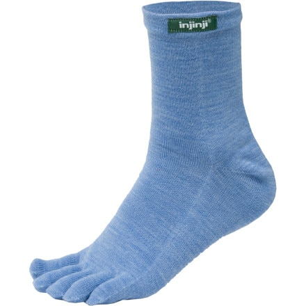 injinji Outdoor Quarter Crew Toe Sock- NuWool
