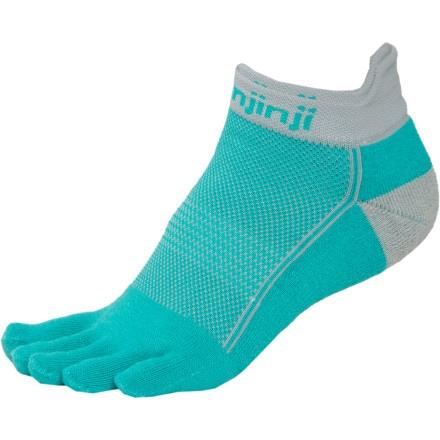 Injinji Midweight Performance No-Show Sock