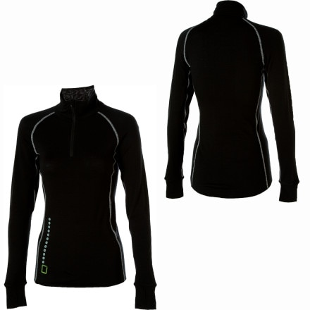 I/O Bio Merino Contact Zip Top - Women's