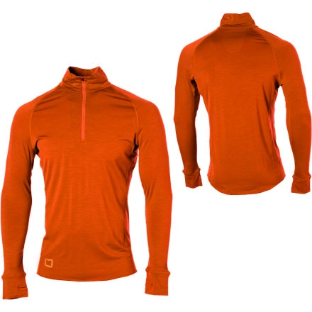 photo: I/O Merino Contact 1 LS Zip base layer top