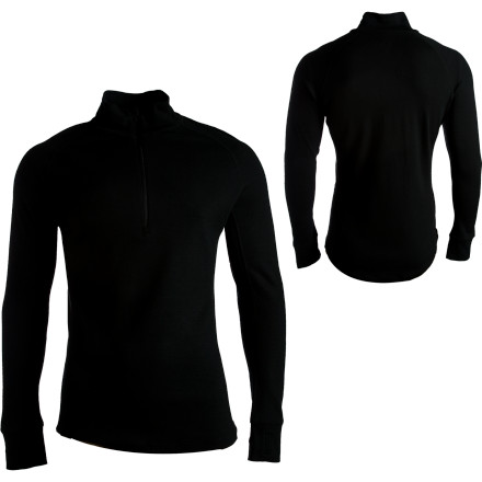 photo: I/O Merino Contact 2 LS Zip long sleeve performance top