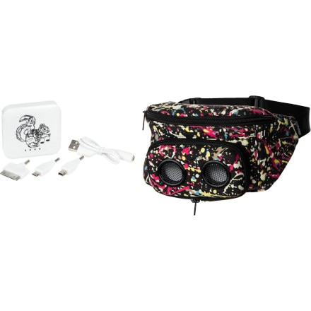 JammyPack JammyPack Portable Speaker Hip Pack w/ Rechargeable Battery