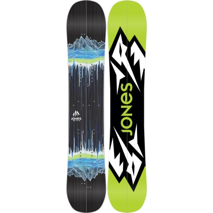 Jones Snowboards Mountain Twin Splitboard