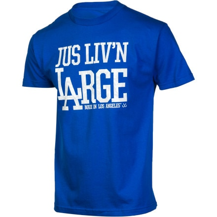 JSLV Liv'n Large Palms T-Shirt - Short-Sleeve - Men's