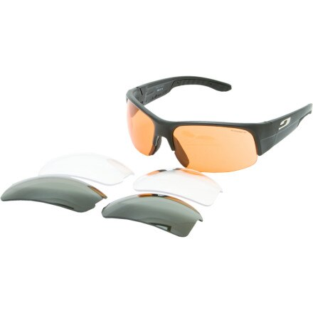 Julbo Contest Sunglasses - Polar, SP 1, Clear 3 Lens Set