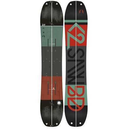 Snowboard split