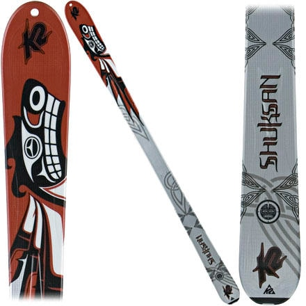 photo: K2 Shuksan alpine touring/telemark ski