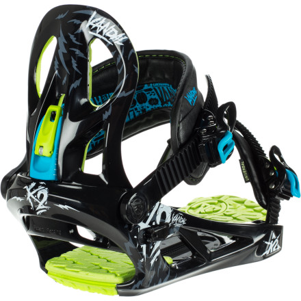 K2 Snowboards Vandal Snowboard Binding - Boys&#39;