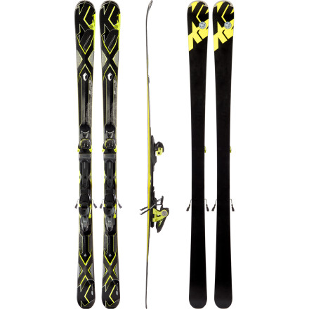 K2 Charger Ski with Marker MX 12.0 Binding