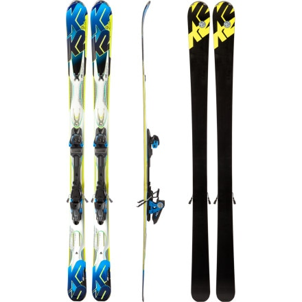 K2 Aftershock Ski with Marker MX 14.0 Binding