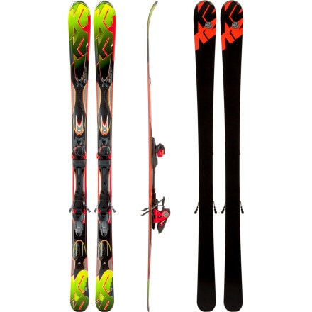 K2 Rictor Ski with Marker MX 12.0 Binding