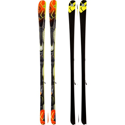 K2 Impact Ski with Marker MX 11.0 TC Binding