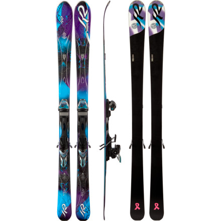 K2 SuperGlide Ski with Marker ERS 11.0 TC Binding - Women's