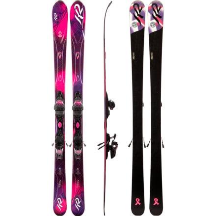 K2 SuperFree Ski with Marker ER3 10.0 Binding - Women's