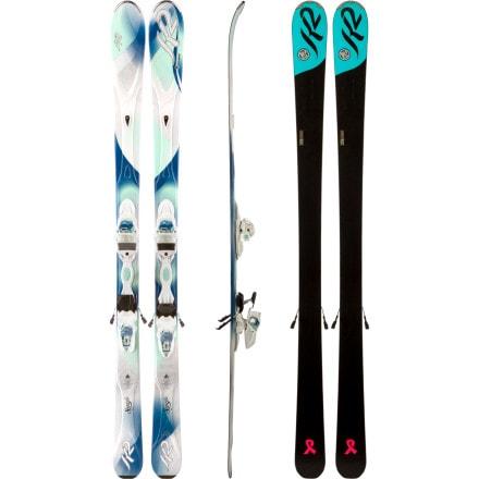 K2 Superific Ski with Marker ER3 10.0 Binding - Women's