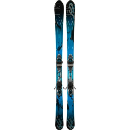 K2 Superific Ski with Marker ER3 10.0 Binding - Women's