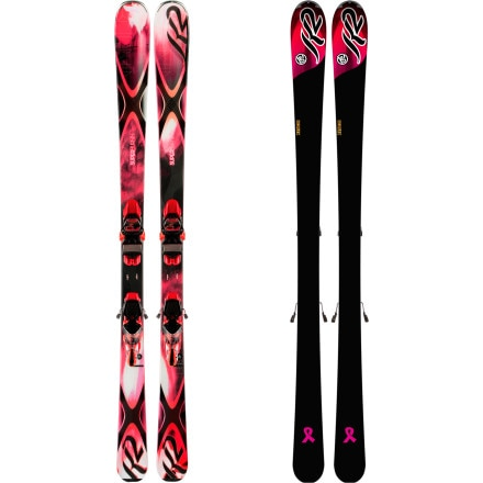 K2 SuperBurnin Ski with Marker ERC 11.0 TC Binding - Women's