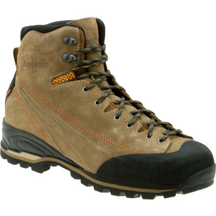 photo of a Kayland backpacking boot