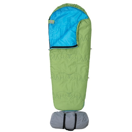 Kelty Little Dipper Sleeping Bag: 40 Degree Synthetic - Boys'