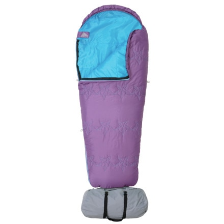Kelty Little Dipper Sleeping Bag: 40 Degree Synthetic - Girls'
