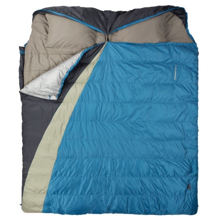 Kelty Supernova Double-Wide Sleeping Bag: 30 Degree Down