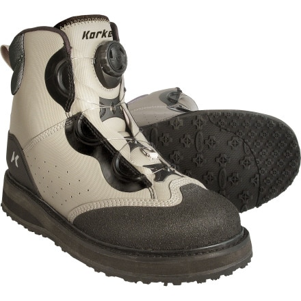 Korkers Chrome Fixed Kling-On Wading Boot - Men's