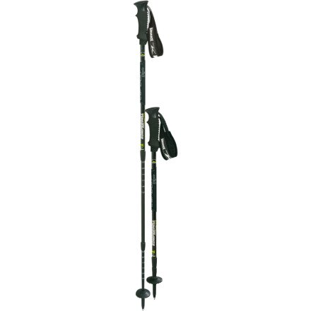 photo: Komperdell Men's Carbon Airshock antishock trekking pole