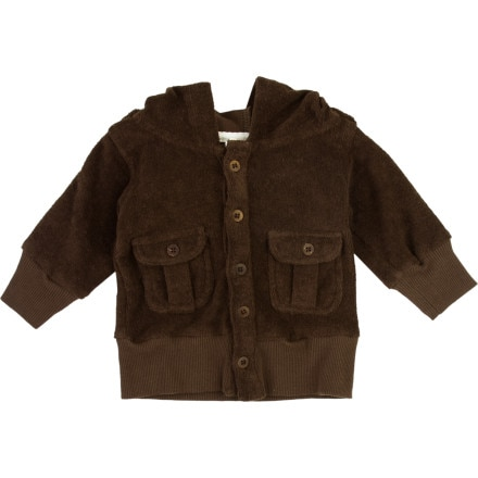 Kate Quinn Organics Terry Toys Pocket Hooded Jacket - Infant Boys'