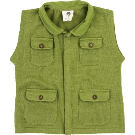 Kate Quinn Organics Sweater Four Pocket Vest - Boys'