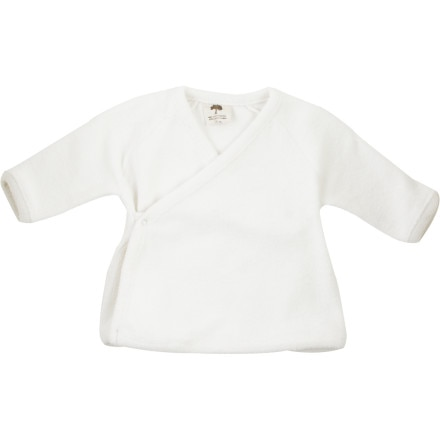 Kate Quinn Organics Sherpa Kimono Bell Shirt - Long-Sleeve - Infant Girls'