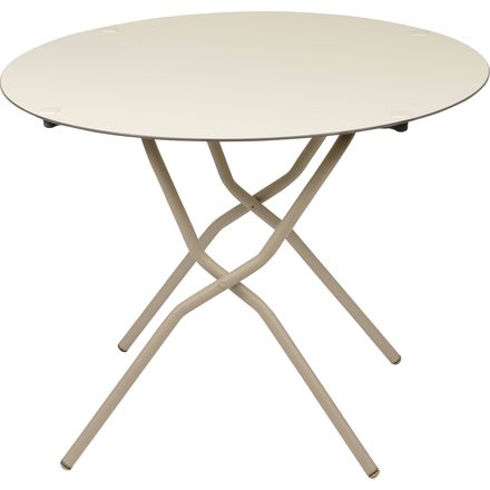 Lafuma anytime round folding table up to 70 off steep - Lafuma camping table ...