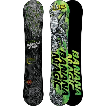 Lib Technologies Banana Magic BTX Snowboard - Wide