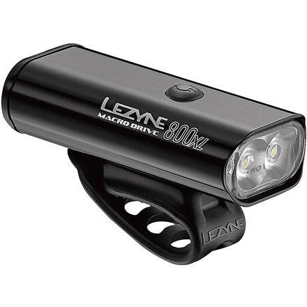 Lezyne Macro Drive 800XL and Strip Pro Pair