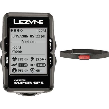 Lezyne Super GPS HR Loaded Bike Computer