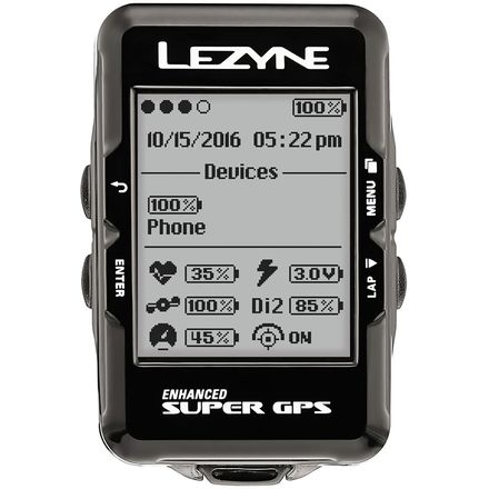 Lezyne Super GPS HRSC Loaded Bike Computer