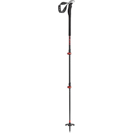photo: Leki Tour Carbon 3 alpine touring/telemark pole