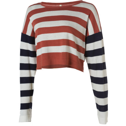 Lifetime Striped Selby Sweater - Women's