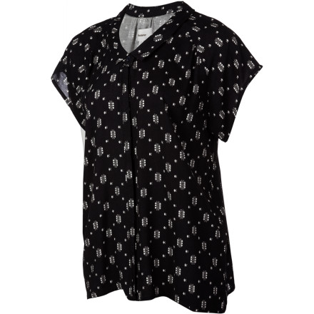 Lifetime Printed Brooke Blouse - Short-Sleeve - Women's