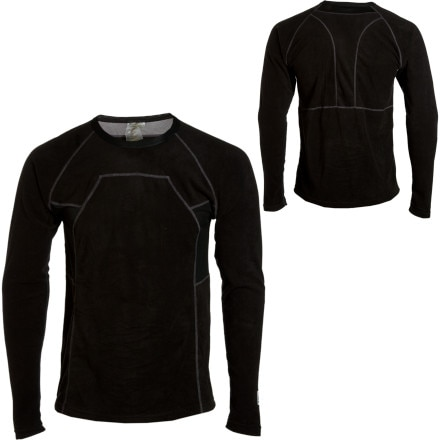 photo: Louis Garneau 4000 Crew Long-Sleeve base layer top