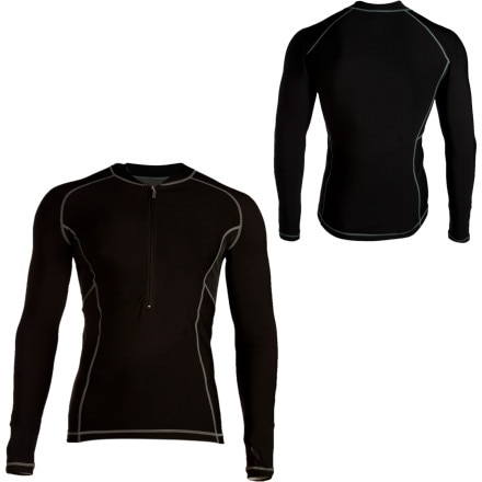 photo: Louis Garneau 3200 Zip Neck Long Underwear Top base layer top