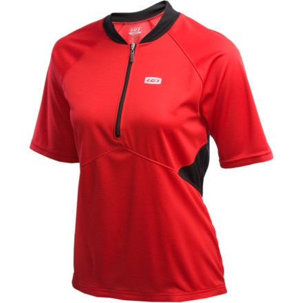 Louis Garneau Newtown Half-Zip Short Sleeve Women's Jersey