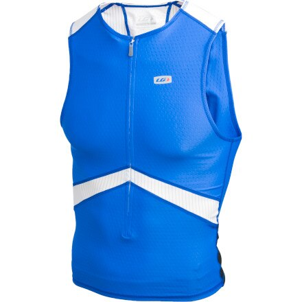 Louis Garneau Pro Tri Jersey - Sleeveless - Men's